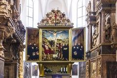 Église St Peter et Paul Weimar, Thuringe Image stock
