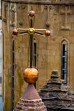 Église supérieure croisée de coupole La paix, bénissent, religion, Dieu, pitié, concept photographie stock libre de droits