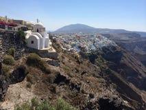 Église supérieure de falaise Photos libres de droits