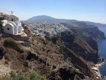 Église supérieure de falaise Image libre de droits