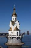 Église sur l'eau images stock
