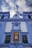 Église sur Terceira Photographie stock