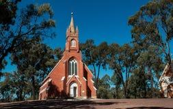 Église sur une côte Image stock