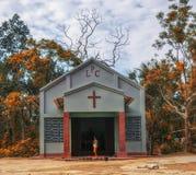 Église tribale Photographie stock libre de droits