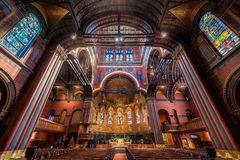 Église Trinity à Boston photographie stock libre de droits