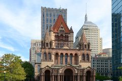 Église Trinity de Boston, Etats-Unis photographie stock