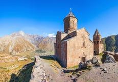 Église Trinity de Gergeti image libre de droits