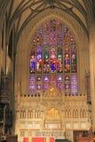 Église Trinity de visite, New York Photos libres de droits
