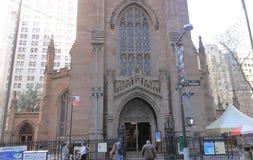 Église Trinity, New York Photos libres de droits