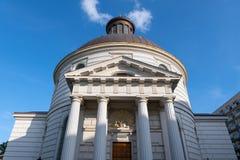 Église Trinity sainte à Varsovie photo stock