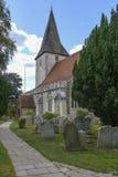 Église Trinity sainte, Bosham, le Sussex occidental, Angleterre R-U image stock