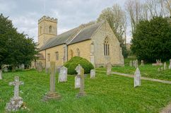 Église Trinity sainte, colline de Crokcham, Kent, R-U Endroit d'enterrement d'Octavia Hill images stock