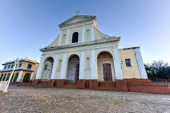 Église Trinity sainte - Trinidad, Cuba photo stock