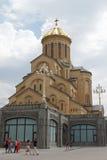Église Trinity, Tbilisi, la Géorgie Image stock