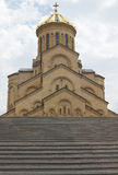 Église Trinity, Tbilisi, la Géorgie Photo stock
