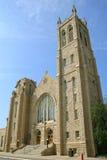 Église unie faite en pierre photos libres de droits