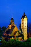 Église Vang de Karpacz Photos stock