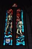 Église vitreuse images libres de droits