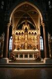 Église votive à Vienne photo stock