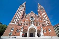 Église votive dans Szeged, Hongrie 2 Images stock