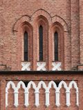 Église Windows Photographie stock