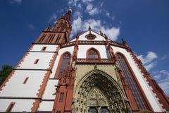 Église Wurtzbourg, Allemagne de Marienkapelle Photo libre de droits