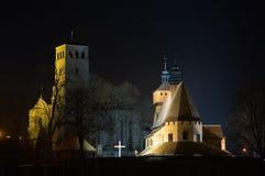 Églises Photo libre de droits