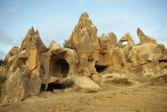 Églises de caverne dans Cappadocia Photo libre de droits