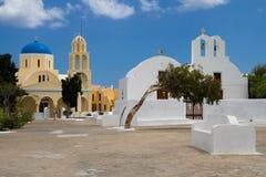 Églises de Cycladic Images stock