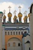 Églises de Terem de Moscou Kremlin Photo couleur Images stock