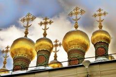 Églises de Terem de Moscou Kremlin Site de patrimoine mondial de l'UNESCO photographie stock libre de droits