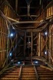 Églises en bois de l'UNESCO en Pologne images libres de droits