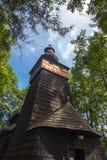 Églises en bois de l'UNESCO en Pologne Photos libres de droits