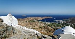 Églises orthodoxes grecques Image libre de droits