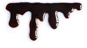 Égoutture fondue de chocolat Image libre de droits