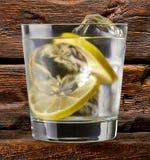 Égrenez le tonique, la vodka ou le rhum photo libre de droits