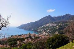 Égua de Vietri Sul, costa de Amalfi, Itália Fotografia de Stock Royalty Free
