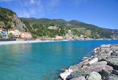 Égua do al de Monterosso, Cinque Terre, Liguria, Italy Fotografia de Stock