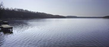 Égua do La um Goriot (lago) em Wallers Arenberg, Fran Foto de Stock