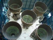 éjecteurs de l'espace de lanceur Photo stock