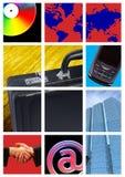 Élém. lumineux d'affaires Images stock