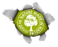Élément écologique et organique Images libres de droits