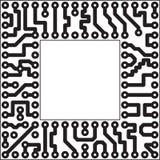 Élément électronique de vecteur - fente Photos libres de droits