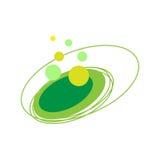 Élément abstrait circulaire de logo Photographie stock libre de droits