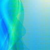 Élément abstrait de conception de couleur de vague. Images libres de droits