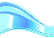Élément abstrait de conception de vague de couleur Image stock