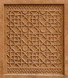 Élément architectural décoratif avec l'ornement coupant dans le St photographie stock