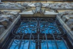 Élément architectural sous forme de volute Éléments architecturaux décoratifs de détail image libre de droits