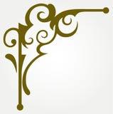 Élément calligraphique de conception Photographie stock