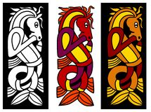 Élément celtique d'ornement illustration libre de droits
